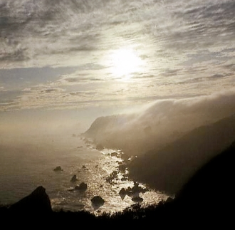 Big Sur coastline 1978