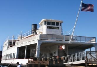 Passenger ferry Eureka, Hyde Street Pier, San Francisco