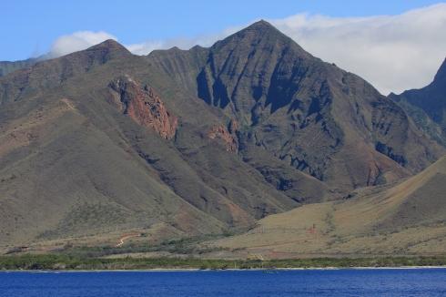 Olowalu Canyon, leeward coast of Maui.